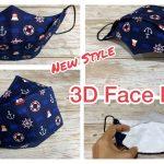 3D Face Mask Hawk Style