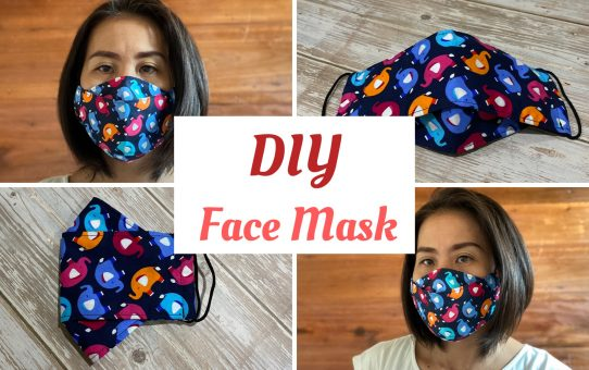 Face Mask 3D with filter