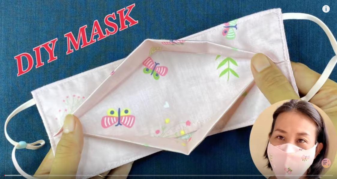 3D Face Mask No FOG ON GLASSES