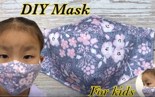 DIY 3D Face Mask Hawk Style for Kids