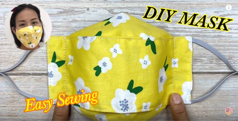 Easy Face Mask Sewing Tutorial