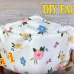 Face Mask 3D 2 in 1 Breathable Easy Pattern