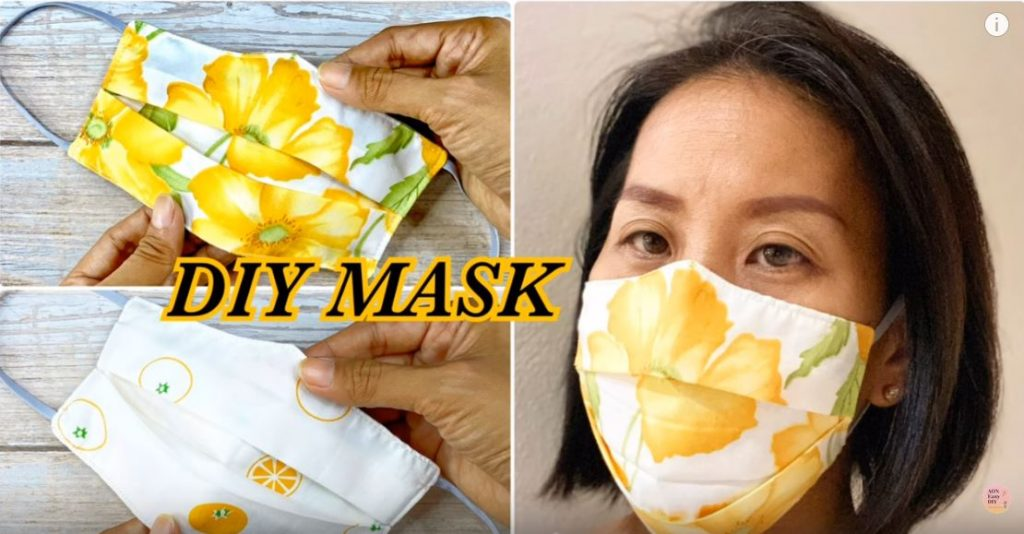 Face Mask 3D Easy Pattern