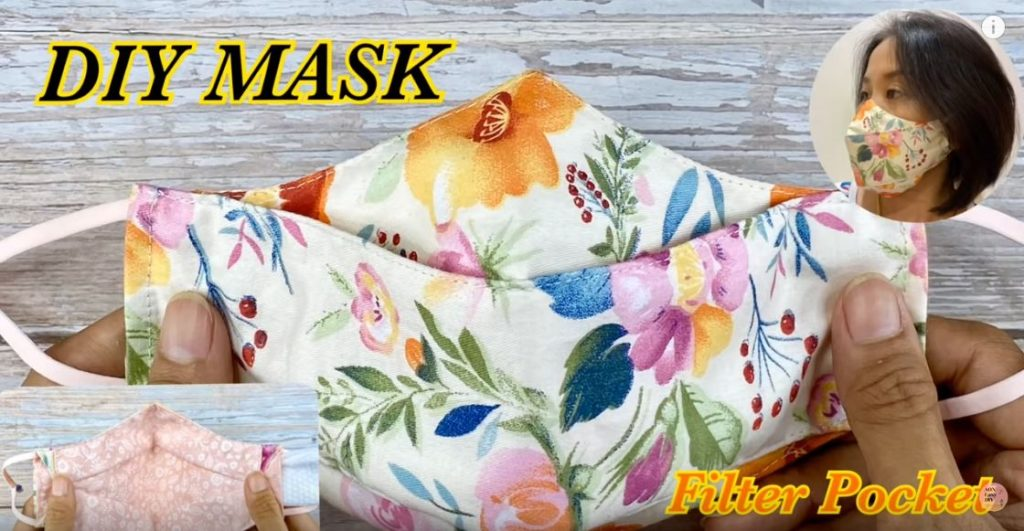 Mask with Filter Pocket 2 in 1