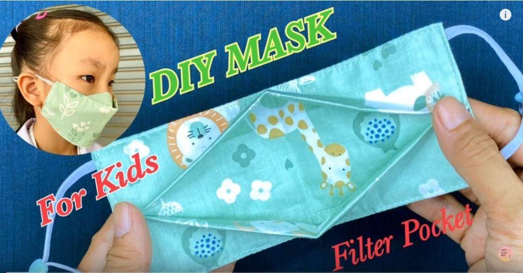 3D Face Mask for Kids