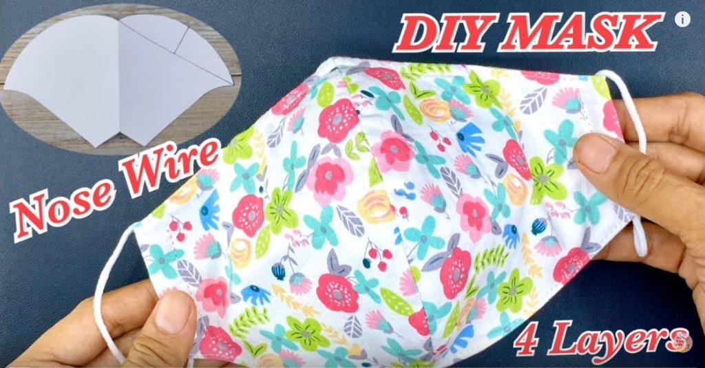 DIY Face MASK 4 Layers