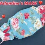 valentine face mask