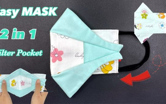 NEW Design 5 Minutes FACE MASK 3 Layers
