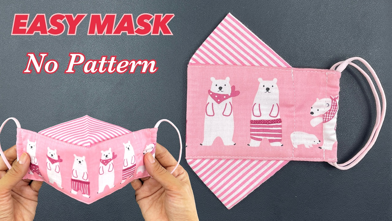 face mask sewing tutorial