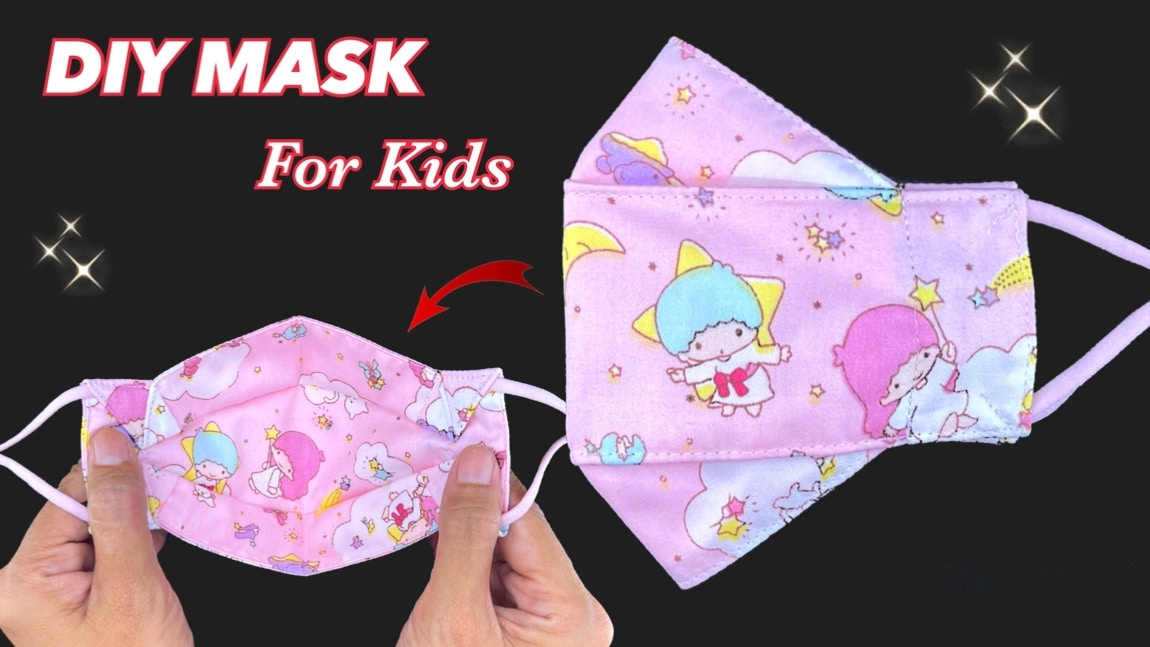 Diy Face Mask For Kids Very Easy